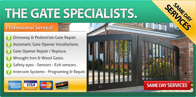 Gate Repair Lemon Grove CA